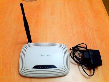 Modem router TP-Link -WR 740nd, güclu modemdir, az işlənib, hec bir