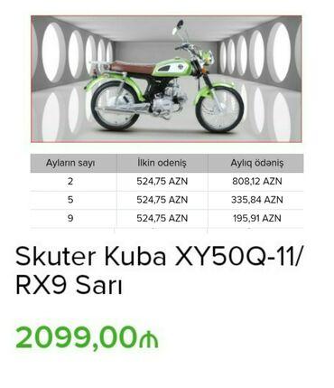 Digər motosiklet və mopedlər - Azərbaycan: Digər motosiklet və mopedlər