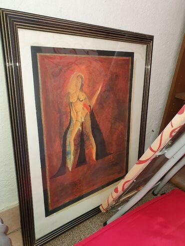 Umetnicka slika 80 cm Srba Travanov