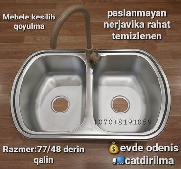 - Azərbaycan: Moyka | Mətbəx üçün | Paslanmaz polad (nerjaveyka) | Çin, Türkiyə, Rusiya