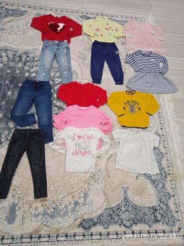 Весь набор одежды на девочку 4,5-5 лет, все вещи отличного качества