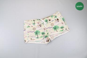 Жіночі шорти з візерунками, р. L   Довжина: 28 см Напівобхват талії: 4