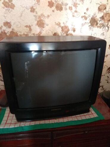"zhenskoe plate 52 в Кыргызстан: Продаю цв.телевизор""Хитачи"",б\у,цена- 2500 сом.Торг уместен"