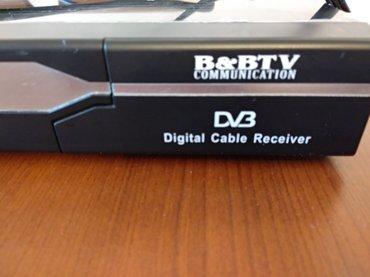 Bakı şəhərində B&B tv communication, digital cable receiver