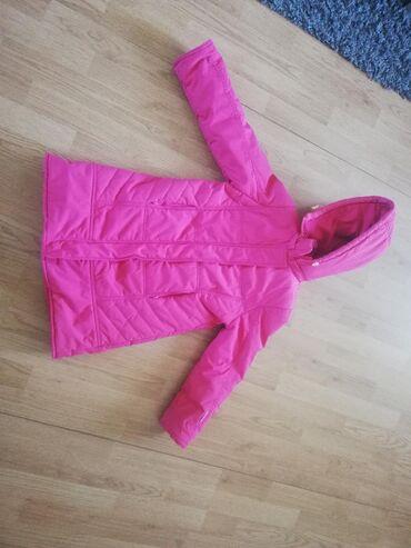 Prelepa jakna za devojcice, vel 8,malo nosena