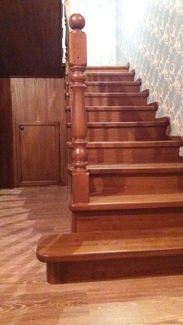 изготовление лестниц, дверей из массива в Бишкек