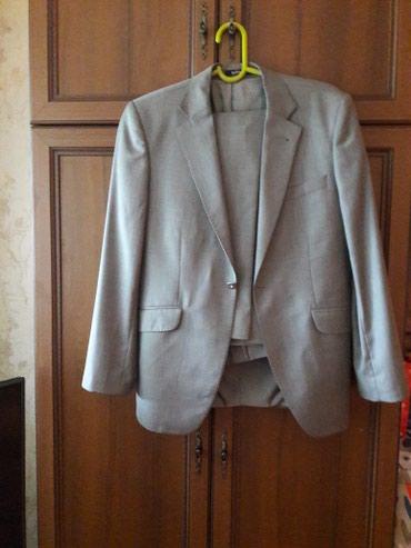 Пиджак серого цвета пр-во Турция в Бишкек