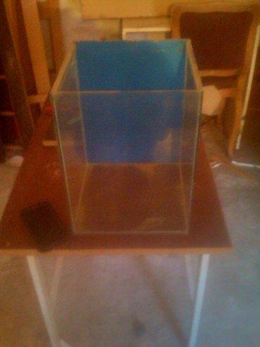 Akvarijum 30*20*20 staje oko 35 litara vode. - Cuprija