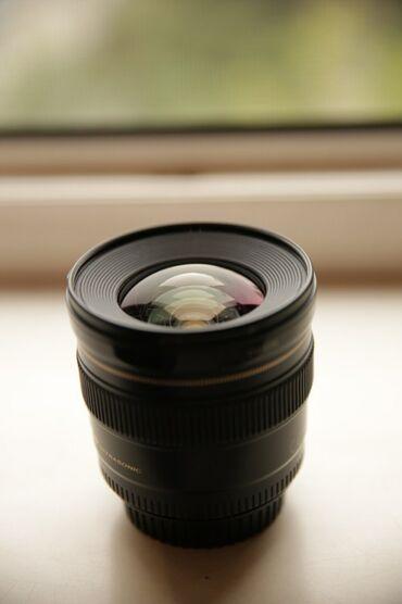 Аксессуары для фото и видео в Кыргызстан: Продается Canon 20mm 2.8f USMОтличный широкоугольный объектив для