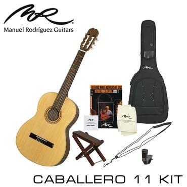 Гитара Manuel Rodriguez Caballero 11 KIT (в комплекте чехол, подставка