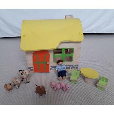 Φάρμα - Plan ToysΠαιχνίδι από ξύλο και αφρώδες υλικόΔιαστάσεις: ύψος