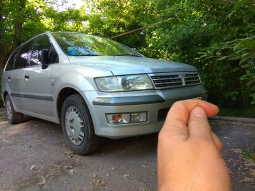 Продам mitsubishi space wagon 2002 года выпуска. в Бишкек