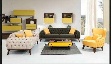 chester sofa - Azərbaycan: Yumşaq dəst Chester Lyuks- 3740azn