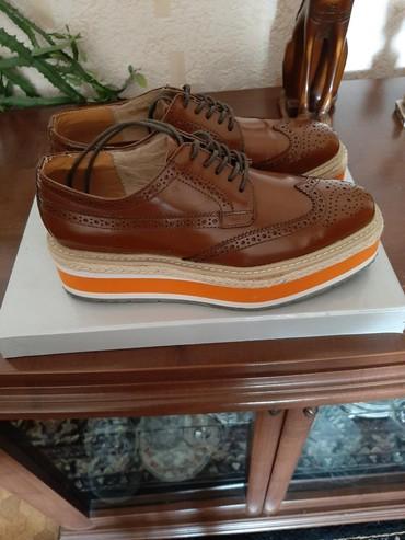 Оксфорды в Кыргызстан: Срочно. Продаётся обувь, новая ни разу не одевалась. Чистая кожа. Разм