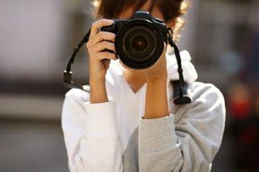 Срочно нужен фотограф (девушка) Можно без опыта  в Бишкек