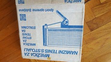 Mreza za stoni tenis sa fiksatorom za sto  - Pozarevac