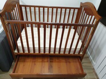 13 объявлений: Продаю детскую кроватку с матрасом, б/у, состояние хорошее. Телефон