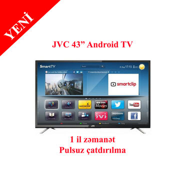 "Televizor JVC HD Ready Android LED TV, 43"" - LT -"