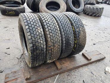 шины диски грузовые в Кыргызстан: Грузовые R17.5,R19.5,R20,R22.5 б.у шины - передняя ось, задняя ось