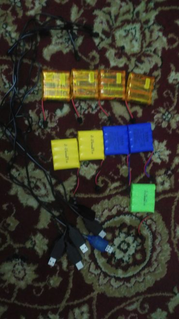 Батарейки для радиоуправляемых машин. С зарядкой и без. в Бишкек