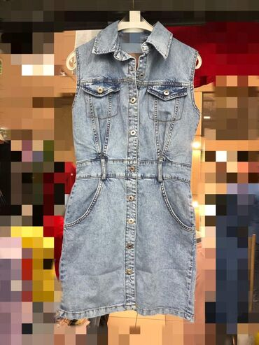 Ženska odeća - Sivac: S m l 2700 Teksas haljina