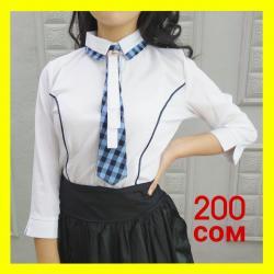 Школьные блузки - Кыргызстан: Блузки Цена 200 сомРазмеры 42-50Размеры и модели могут отличаться в