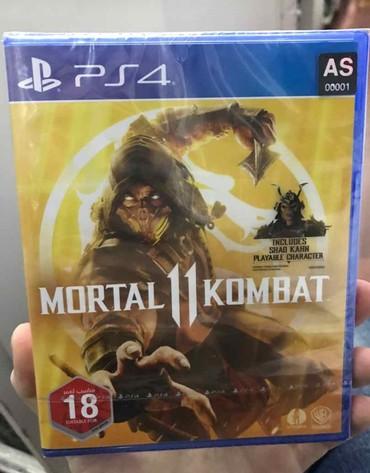 Bakı şəhərində Mortal kombat 11. Yeni upokovkada Mağazadan zəmanət ilə