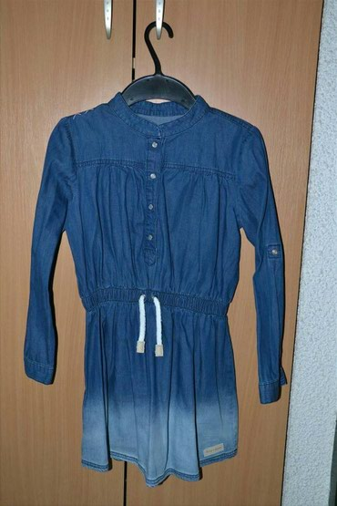 Decije haljine - Subotica: Teksas haljina 6-7 godina