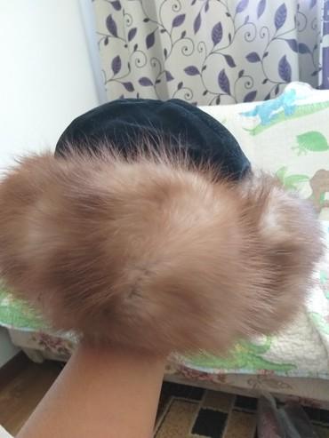 шапку женскую чернобурка в Кыргызстан: Головные уборы