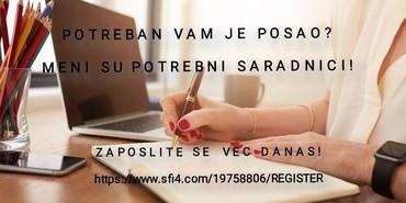 POTREBNI OZBILJNI SARADNICI - Belgrade