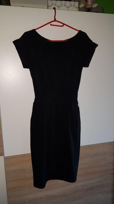 Haljine - Paracin: Nova haljina pamucna sa elastinom strukirana sa faltama moderna sa