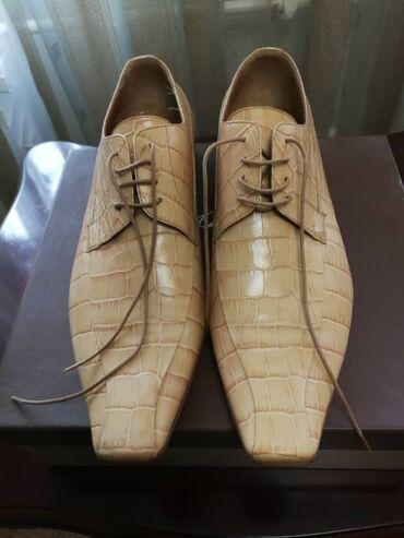 Мужские итальянские туфли из натуральной кожи. Новые. 40 размер