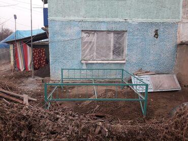 Недвижимость - Кара-Суу: Хрущевка, 2 комнаты, 45 кв. м Совмещенный санузел