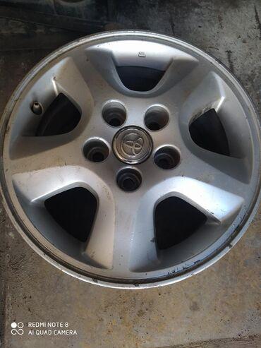 Автозапчасти и аксессуары - Чолпон-Ата: Титановые диски на Тойоту r15 4шт