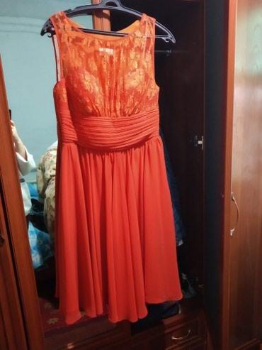 Платье котельное размер 48, одевала 1 раз. Подобие бра сверху, можно