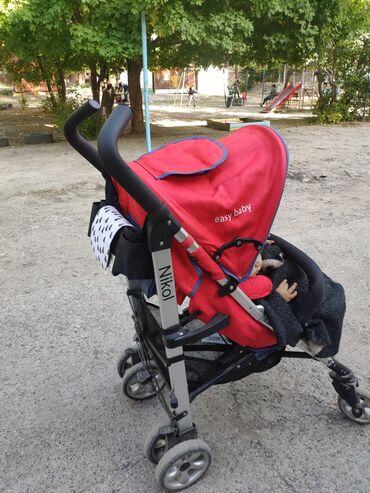 Продается коляска Nikol easy baby. б.у, в хорошем состоянии. Цена