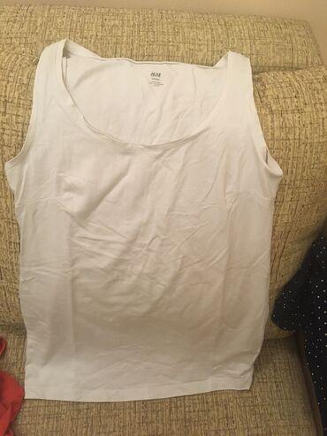 Majice komada - Srbija: Majica za trudnice bela vel Smalo nosena u sjajnom stanjupopust na
