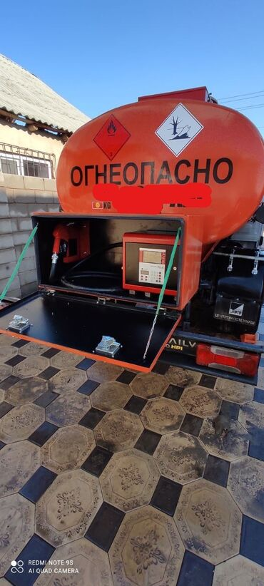 Практика вождения на механике - Кыргызстан: Бензовоз топливозаправщик ивеко дейли. Год выпуска 2009. Объем 3.0 куб