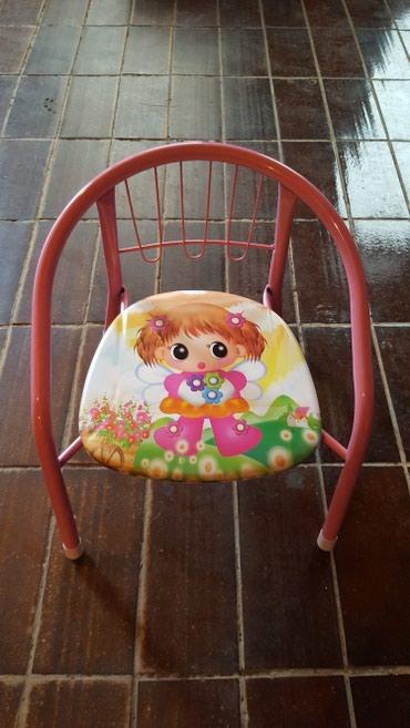 NOVO Prelepa stolica za devojcice.....samo raspakovana - Bajina Basta