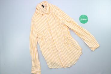 Личные вещи - Украина: Жіноча сорочка у смужку H&M р. S    Довжина: 62 см Ширина плечей