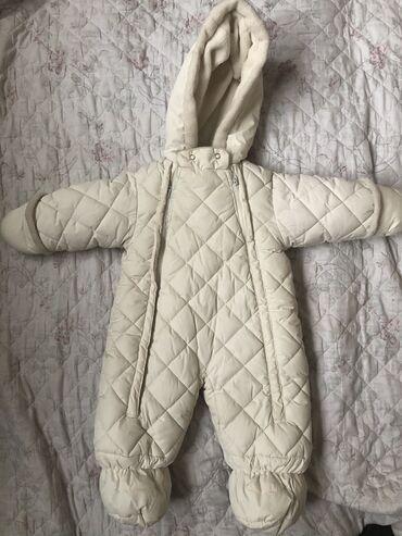 вешалка для верхней одежды бишкек в Кыргызстан: Комбинезон детский зимний, в отличном состоянии от рождения до 3-4