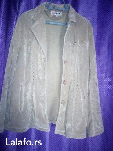 Zenska jakna velur br. 46-52 - Nis