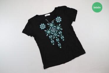 Жіноча футболка з вишивкою Podolyanka p. M    Довжина: 50 см Ширина пл
