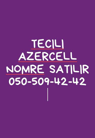 azercell 50gb - Azərbaycan: AzerCeLL Nomre