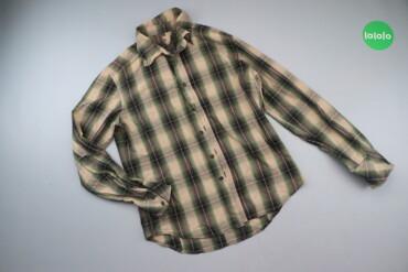 10000 объявлений | ЛИЧНЫЕ ВЕЩИ: Чоловіча сорочка у клітинку, р. L   Довжина: 67 см Ширина плечей: 42 с