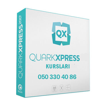 Quark XPress kursu Tədris Mərkəzində bütün dizayn proqramları yüksək ş