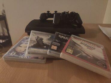 Ps3 igrice - Srbija: Prodajem povoljno PS3 500 GB koji je u odlicnom stanju ima jedan