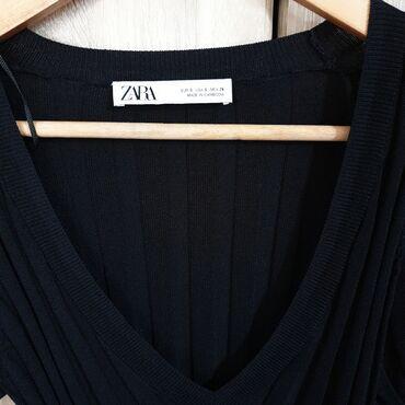 Svasta haljina - Srbija: Zara pleteni, vel.S/m, potpuno novonenosenofix cenaprelepjos lepsi