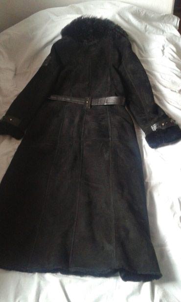 Дубленка размер 50-52 150$ черная длинна в Бишкек