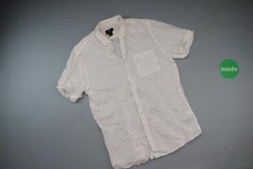 Чоловіча сорочка з короткими рукавами H&M, р. М   Довжина: 70 см Ш